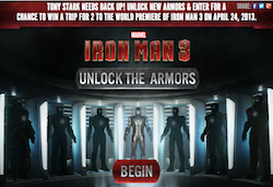 Iron Man 3 Sweepstakes