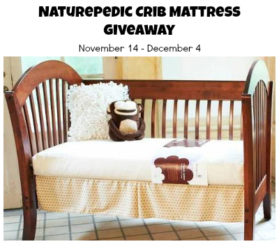 Naturepedic Giveaway Naturepedic Crib Mattress Giveaway! $399 Value