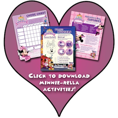 Minnie-rella Activity Sheets