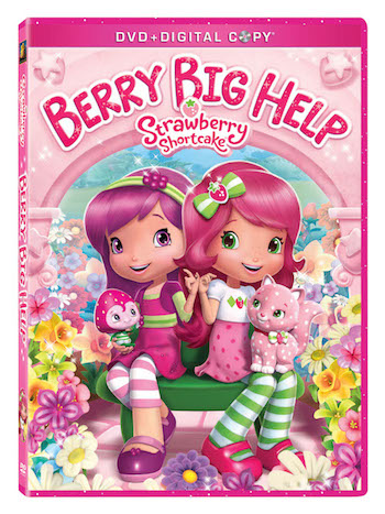 Strawberry Shortcake Berry Big Help DVD