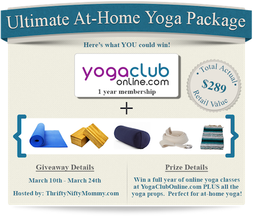Yoga Prize Package