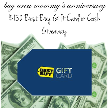 $150 Best Buy Gift Card or Cash Anniversary Giveaway